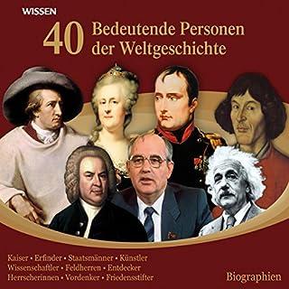 40 bedeutende Personen der Weltgeschichte Titelbild