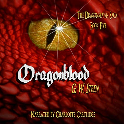Dragonblood audiobook cover art