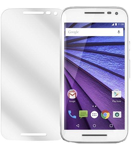 dipos I 6x Schutzfolie klar kompatibel mit Motorola Moto G (3. Generation) Folie Bildschirmschutzfolie