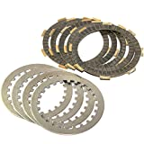 Caltric Clutch Friction & Steel Plates Compatible With Honda Xr185 Xr-185 1979