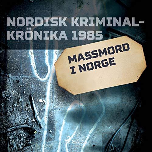 Massmord i Norge cover art
