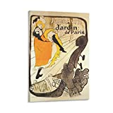QIAOYI Toulouse Lautrec Poster 6 Wandkunst Bild Gemälde