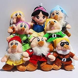 seven dwarfs stuffed dolls
