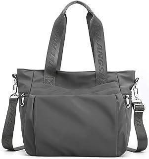 YANAIER Damen Handtaschen Schultertasche Wasserdicht Nylon Casual Multifunktionale Umhängetaschen Damen Hobos Schultertasc...
