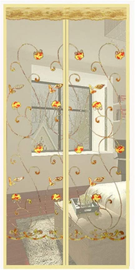 LBBL Magnetic Screen Door,Install Superior Without Drilling Cu Limited time cheap sale Mesh Fly