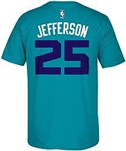 adidas Men's Short-Sleeve Al Jefferson Charlotte Hornets Player T-Shirt