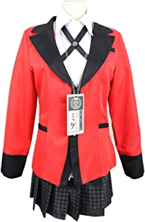 YKJ Anime Cosplay Kostüm High School Uniform Halloween Party Cosplay Kostüm für Frauen Mädchen Set,Suit-M