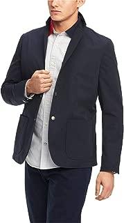 TOMMY HILFIGER Men's Grid-pattern Utility Sport Jacket