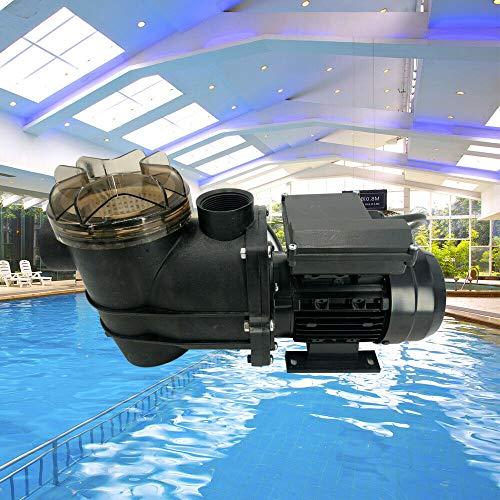 LiFuJunDong Swimming Pool Pumps Swimming Pool Water Circulation Filter Pump Electric Pressure Water Sand Filter 180W Pump 110V