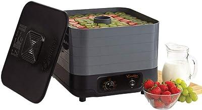 GWFVA Machine de déshydrateur Alimentaire Domestique Sèche-Fruits Légumes de Viande avec contrôle tat 35-74 ℃ Sèche-Alimen...