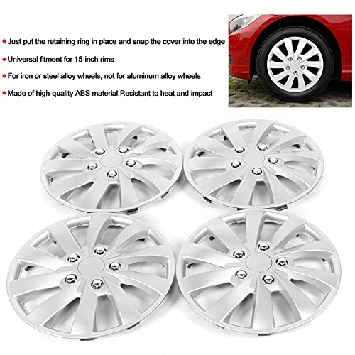 Socobeta Preium Tapas de rueda a presión para reemplazo de piezas de automóviles para decoración de ruedas (tipo A)