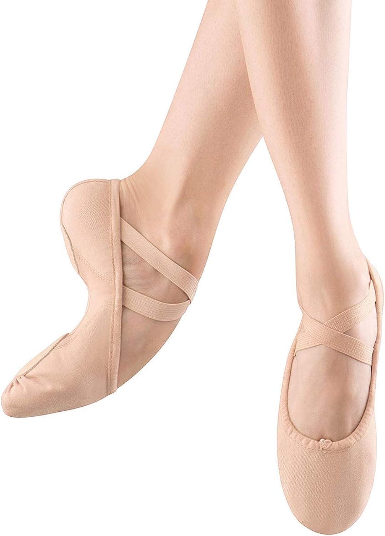 Bloch Dance Women's Proflex Canvas shoes, Pink, 5.5 D US