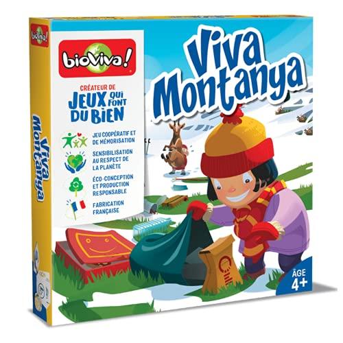 BIOVIVA - Jeux coopératif - Viva Montanya - Jeu de société ludique dès 4 ans - 282413