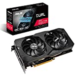 ASUS AMD Radeon RX 5500XT Overclocked O8G GDDR6 Dual Fan EVO Edition HDMI DisplayPort Gaming Graphics Card (DUAL-RX5500XT-O8G-EVO)