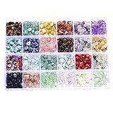 NOWON 24 grilles de pierres précieuses perles irrégulières...