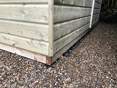 EcoBearer Shed Base Kit for an 10ft x 6ft with 6 bearers- Kit consists of 30 Eco-bearers