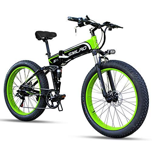 SMLRO Vélos électriques Pliant pour Adultes, 26'...