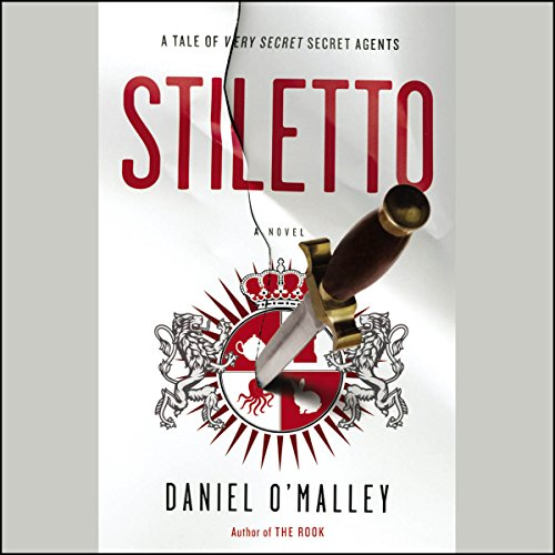 Stiletto audiobook cover art