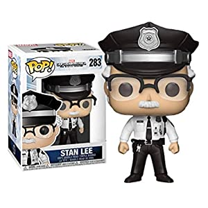 Funko Pop Stan Lee Policía (Capitán América: The Winter Soldier 283) Funko Pop Capitán américa