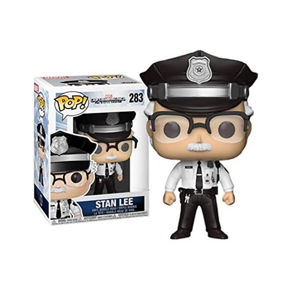 Funko Pop Stan Lee Policía (Capitán América: The Winter Soldier 283) Funko Pop Capitán américa