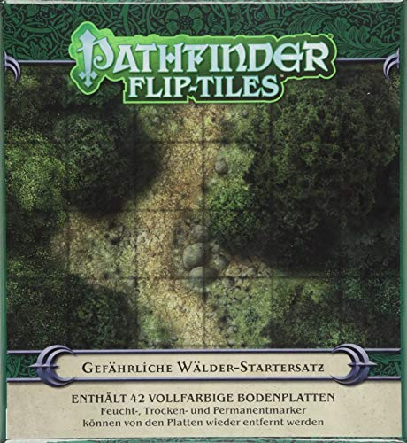Pathfinder Flip-Tiles: Wald-Startersatz (Pathfinder / Fantasy-Rollenspiel)