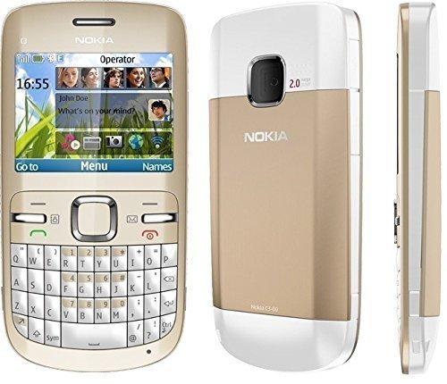 Nokia C3 - Orange Libre (pantalla de 2,4