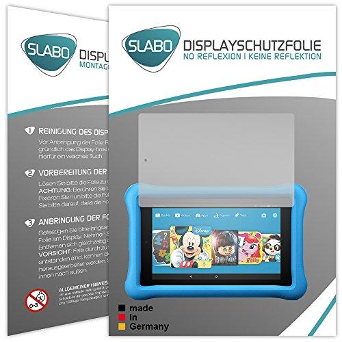 Slabo 2 x Bildschirmschutzfolie für Amazon Fire HD 8 Kids Edition (7. Generation - 2017) Bildschirmschutz Schutzfolie Folie No Reflexion | Keine Reflektion MATT