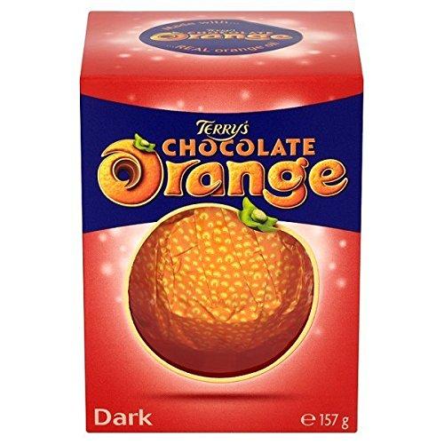 Terrys Dark Chocolate Orange Dark 157g (Pack of 6)