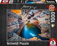 Indigo Puzzle 1.000 Teile: Erwachsenenpuzzle Mark Gray
