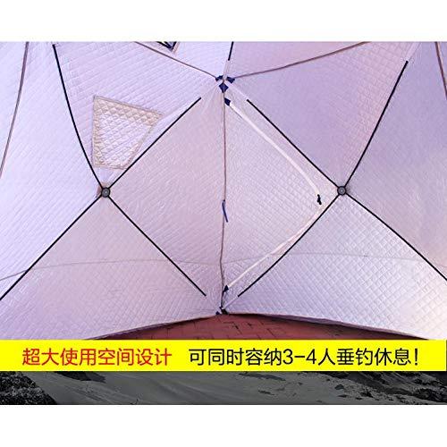 Ashuang IJs Vistent Plus Katoen Verdikking Snelheid Open Winter Automatische Tent Om Ijs Vissen Huis Multi-User Tent bouwen