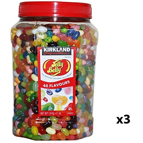 Kirkland Jelly Belly Gourmet Jelly Beans 1.8kg Jar 44 Flavour Sweets Bulk (3)