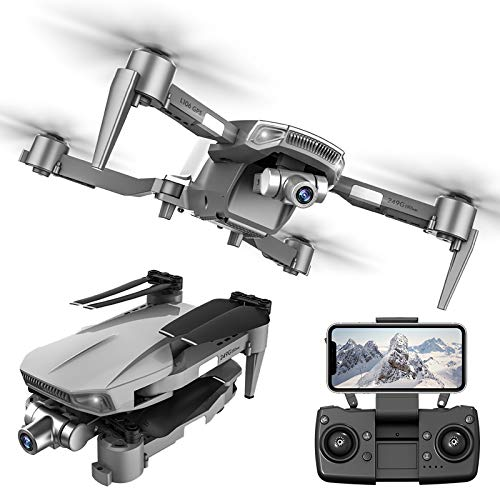 4K GPS Drone with 2-axis stabilizer Gimbal for Adults, 5G WiFi FPV Live Video Foldable Drone, Foldable RC Quadcopter with 1200M Long Control Range and 2 Batteries