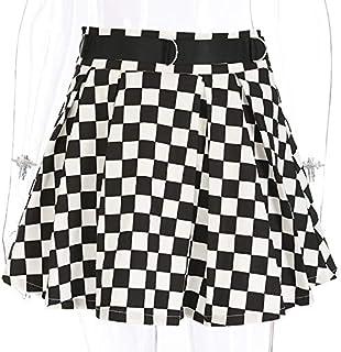 09be0ecd Amazon.es: cuadros blanco y negro - Faldas / Mujer: Ropa