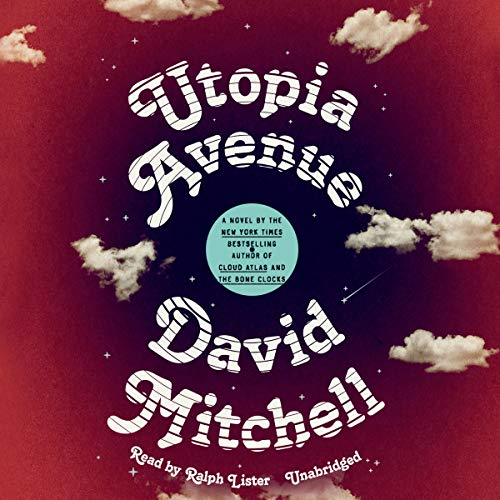 Utopia Avenue audiobook cover art