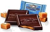 West End Foods Bundle of Ghirardelli Bulk Dark Chocolate Sea Salt Caramel (3 pound)