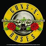 Guns N Roses Barco de cabotaje Bullet band logo nuevo Oficial 9.5 x 9.5cm single