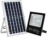 GDEVNSL Luces de Seguridad solares, 100W 108 LED IP65 Lámpara de...