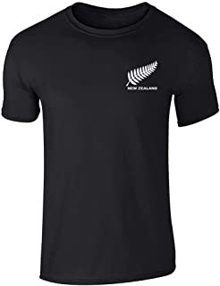 New Zealand Soccer Retro National Team Jersey Graphic Tee T-Shirt for Men