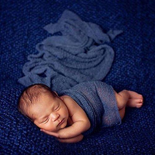 DDG EDMMS Baby-Fotografie-Requisiten, Viskose, Stretch, 40 x 150 cm, für Babys
