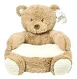 Brown Bear 18' Plush Baby Chair W/Corduroy Trim