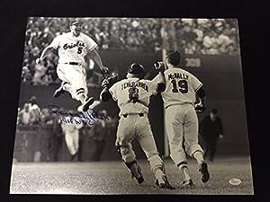 Brooks Robinson Autographed Jsa Coa 16x20 Photo 1966 World Series Orioles