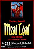 MEAT LOAF - 1999 - Konzertplakat - Best of - Tourposter -