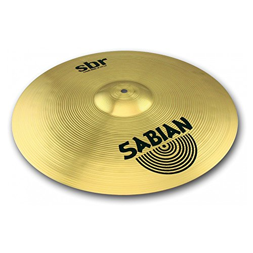 Sabian SBR1811 SBR Series Pure Brass 18-Inch Crash/Ride Cymbal
