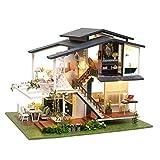 ZHBB Modelo en miniatura de bricolaje muñeca marioneta casa pequeños muebles juguetes para dar novia día de San Valentín y niños juguetes de cumpleaños regalos