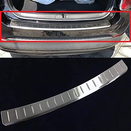 Achterbumper beschermer opstappaneel kofferbakbekleding sierlijst voor Fiat 500X 2015 2016 2017 2018