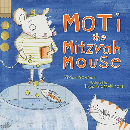 Moti the Mitzvah Mouse audiobook cover art