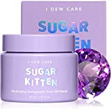 I DEW CARE Sugar Kitten | Holographic Hydrating Peel-Off Glitter Face Mask with Niacinamide | Korean Skincare, Cruelty-free, Gluten-free, Paraben-free