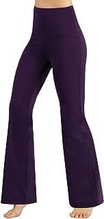 Power Flex Boot-Cut Yoga Pants Tummy Control Workout Non See-Through Bootleg Yoga Pants