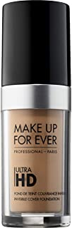 Make Up For Ever Ultra HD Invisible Cover Foundation 153 -Y405, Golden Honey (I000032405)