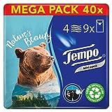 Tempo Kids Taschentücher, Mega Pack, 40 Packungen (9 Päckchen x 5 Tücher) -